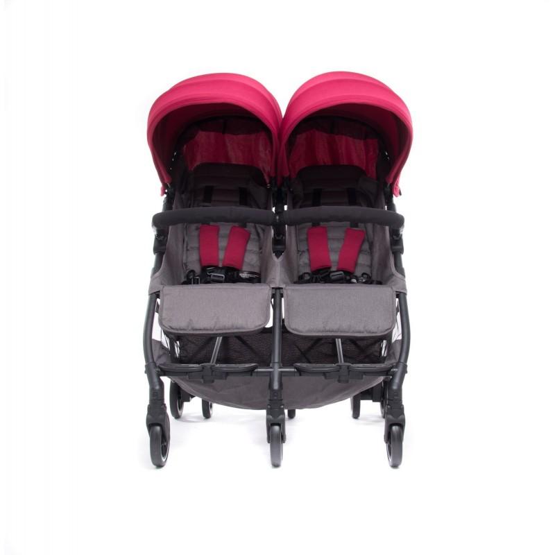 Silla de paseo gemelar Kuki Twin - Baby Monsters