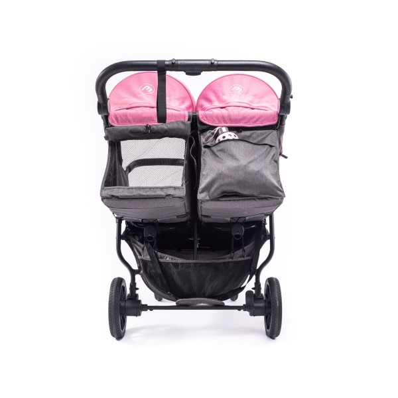 Carrito gemelar + Capotas Easy Twin 4 - Baby Monsters